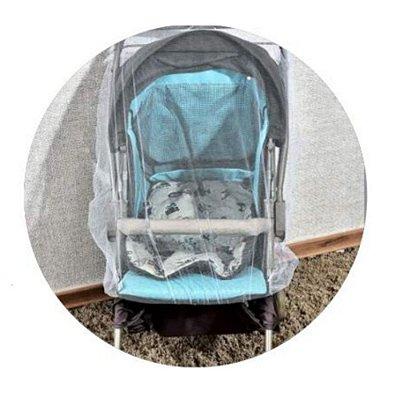 Mosquiteiro Cortinado para Carrinho Baby - Minasrey - 1008