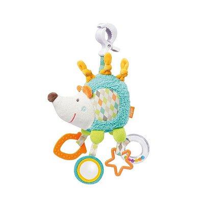 Porco espinho com atividades e prendedor - Baby Fehn - Multikids Baby - BR701