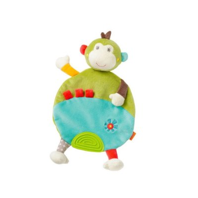 Bichinho Mordedor Macaco - Baby Fehn - Multikids Baby - BR306