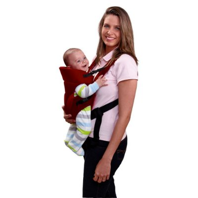 Canguru para Bebê Baby Safe Bordô - Multikids Baby - BB194