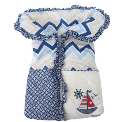 Porta Bebê Menino Azul Marinheiro Loupiot Classic - Minasrey - 5287