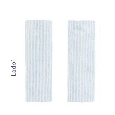 Protetor de Cinto com Listras Azul - KaBaby - 10005A