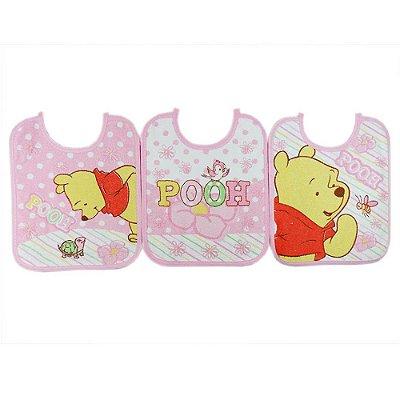 Babador Pooh - Menina - Minasrey - 3889
