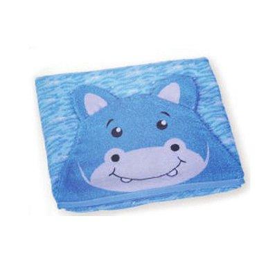 Toalha de Banho Carinhas Hipopotamo Hippo - Minasrey - 3527