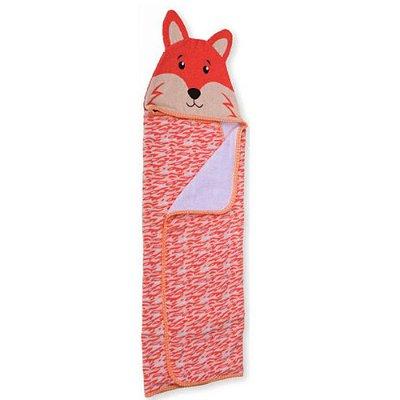 Toalha de Banho Carinhas Raposa Fox - Minasrey - 3528