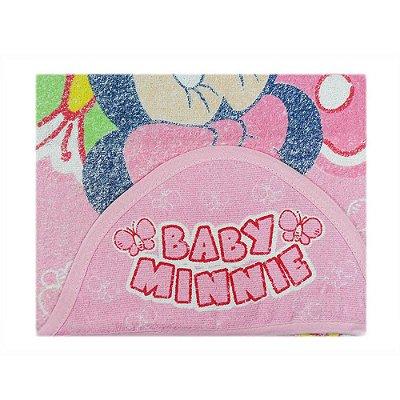 Toalha Felpa Disney 70 cm x 90 cm - Menina - Minasrey - 3862