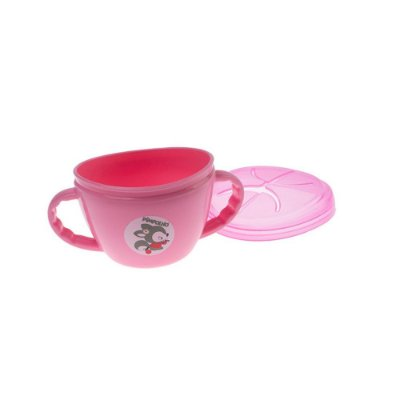Porta Snack Feminino Rosa Claro - Pimpolho - 7828