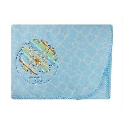 Cobertor Bordado Azul Friends - Minasrey - 1876