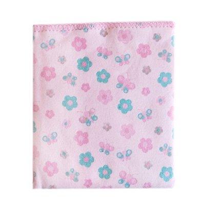 Cobertor Estampado Carícia Rosa Florzinha - Minasrey 1614