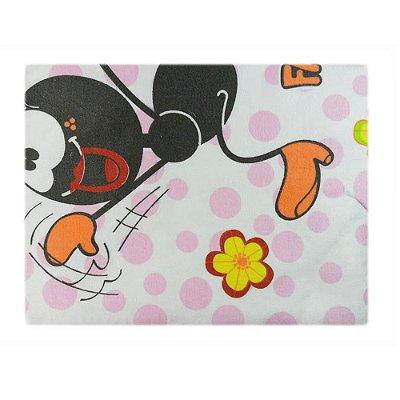 Cobertor Estampado Smilinguido Rosa - Minasrey - 3203