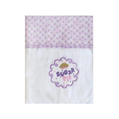 Manta Cueiro Lilás Carícia Baby - Minasrey - 3333