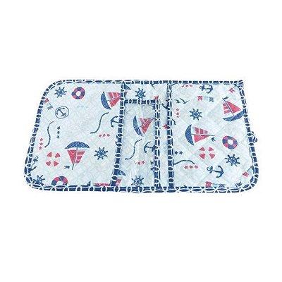 Porta Fraldas Marinheiro Azul Loupiot Classic 20 cm x 32 cm - Minasrey - 5445