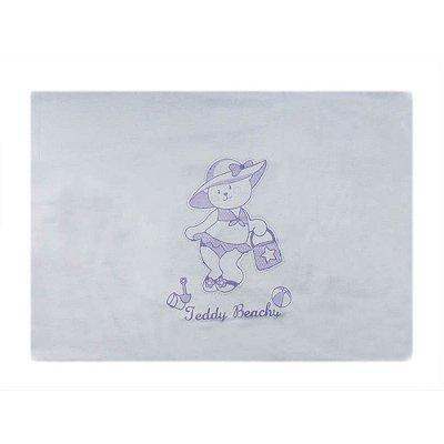 Fronha de Malha Estampada 28 cm x 40 cm - Lilás - Minasrey 4022