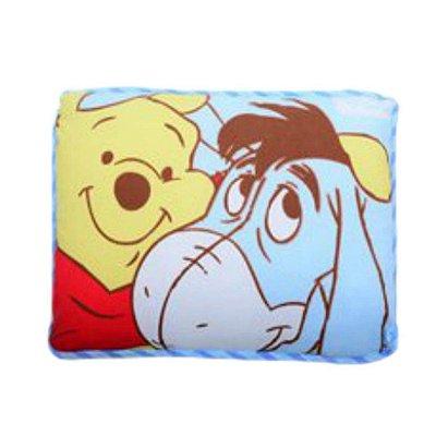 Travesseiro Pooh e Eeyore Linha Disney Baby 28cm x 35 cm - Minasrey - 3979
