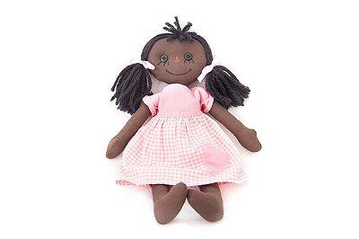 Maria Pretinha - Boneca em Tecido