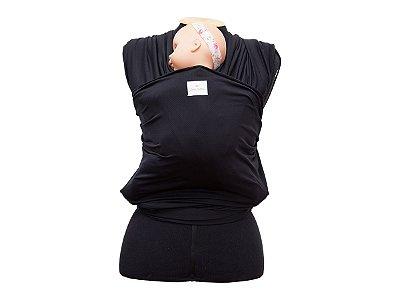 Wrap Sling em Dryfit de Poliamida - Preto