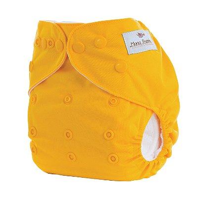 Fralda de Pano Moderna Amarela