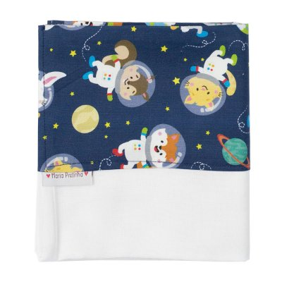 Fralda de Ombro Bichinhos Astronautas