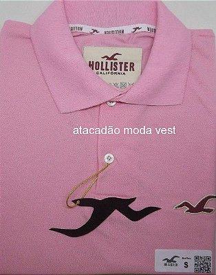 Camisa Polo Hollister 9fd03afabb1