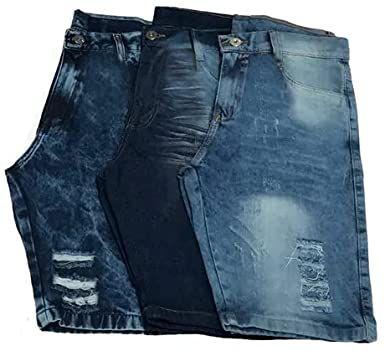 Kit 10 Bermudas Jeans no Atacado