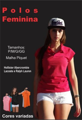 KIT 6 POLO FEMININA