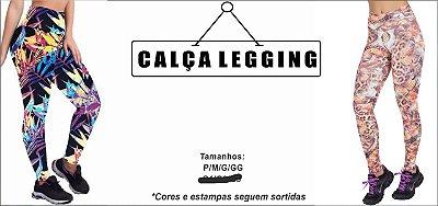 KIT 10 CALÇAS LEGGING