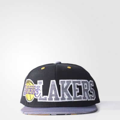 Boné Adidas Flat Los Angeles Lakers