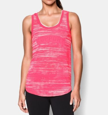 Camiseta UA Power In Pink Support
