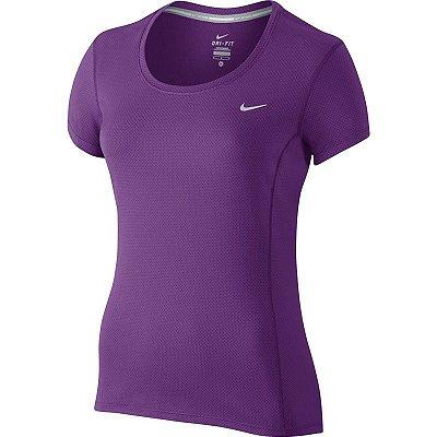 Camiseta Nike Dame Dri-Fit Contour T-Shirt
