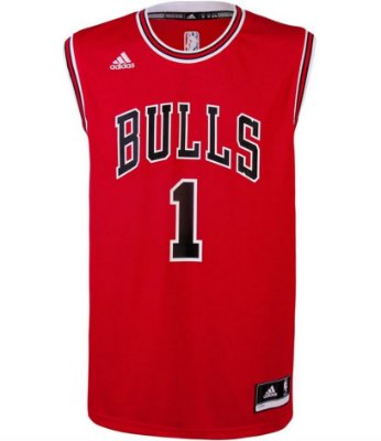 Camiseta Regata NBA Adidas Swingman Chicago Bulls - Rose -