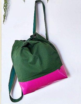 Bolchila Verde e Rosa