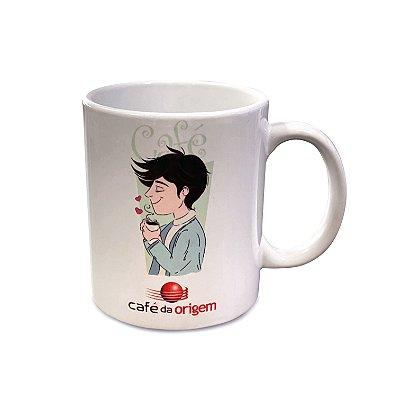 Caneca Café da Origem - Modelo Garoto