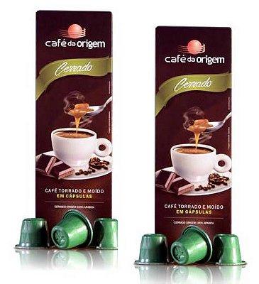Pack de Cápsulas Café da Origem 150un Cápsulas Cerrado + Frete Grátis