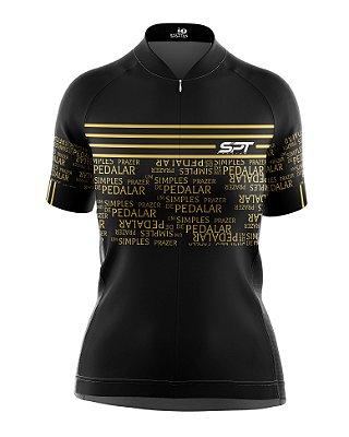 Camisa de Ciclismo Manga Curta Feminina Proteção Solar FPU 50+ Marca SPT - 10