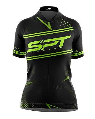 Camisa de Ciclismo Manga Curta Feminina Proteção Solar FPU 50+ Marca SPT - 13