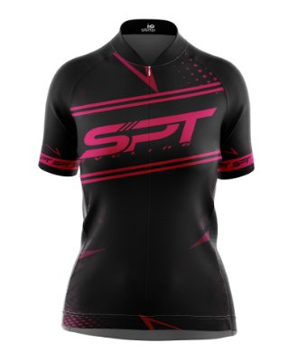 Camisa de Ciclismo Manga Curta Feminina Proteção Solar FPU 50+ Marca SPT - 14