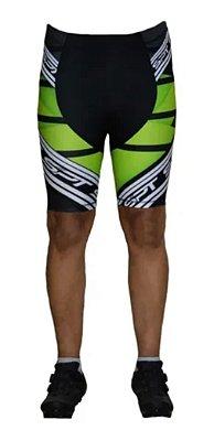 Bermuda Ciclismo Ciclista Short Forro Gel Masculina Ref 01