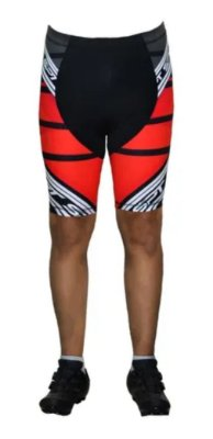 Bermuda Ciclismo Ciclista Short Forro Gel Masculina Ref 04