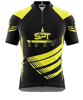 Camisa de Ciclismo Manga Curta Proteção Solar FPU 50+ Marca Spartan Ref. 06