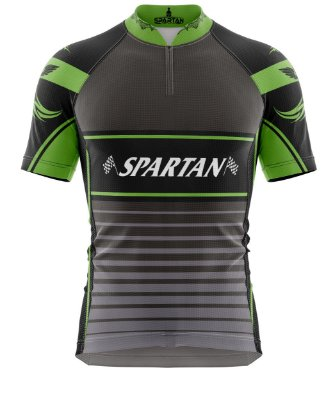 Camisa de Ciclismo Manga Curta Proteção Solar FPU 50+ Marca Spartan Ref. 09