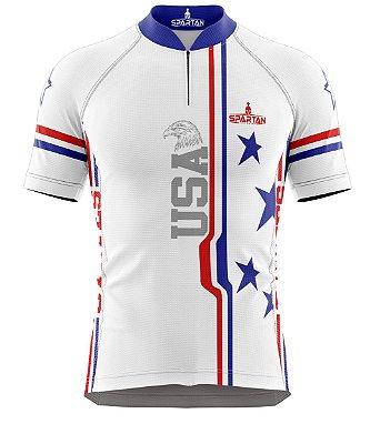 Camisa de Ciclismo Manga Curta Proteção Solar FPU 50+ Marca Spartan Ref. 10