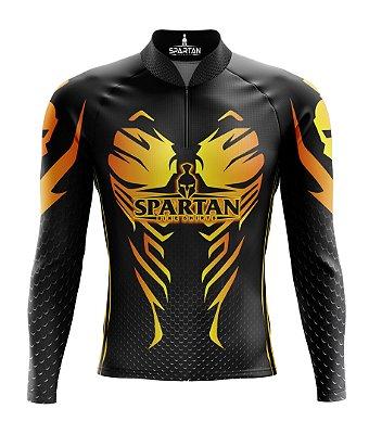 Camisa de Ciclismo Manga Longa Proteção Solar FPU 50+ Marca Spartan Ref. 01