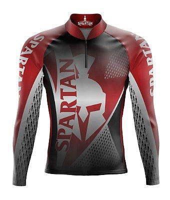 Camisa de Ciclismo Manga Longa Proteção Solar FPU 50+ Marca Spartan Ref. 04
