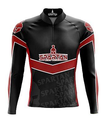 Camisa de Ciclismo Manga Longa Proteção Solar FPU 50+ Marca Spartan Ref. 05