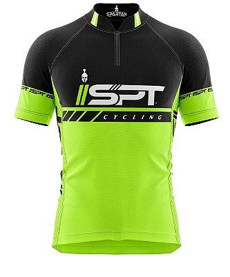 Camisa de Ciclismo Manga Curta Proteção Solar FPU 50+ Marca Spartan Coleção W Ref. 01