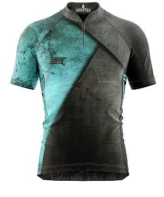Camisa de Ciclismo Manga Curta Proteção Solar FPU 50+ Marca Spartan Coleção W Ref. 03