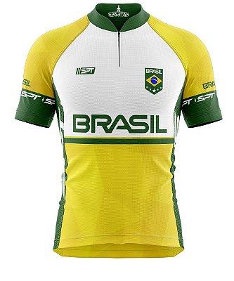 Camisa de Ciclismo Manga Curta Proteção Solar FPU 50+ Marca Spartan Coleção W Ref. 05