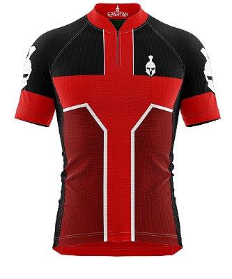 Camisa de Ciclismo Manga Curta Proteção Solar FPU 50+ Marca Spartan Coleção W Ref. 12