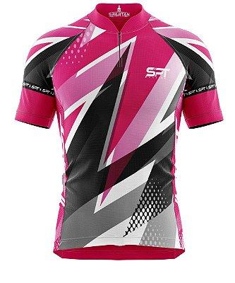 Camisa de Ciclismo Manga Curta Proteção Solar FPU 50+ Marca Spartan Coleção W Ref. 13