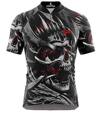 Camisa de Ciclismo Manga Curta Proteção Solar FPU 50+ Marca Spartan Coleção W Ref. 16